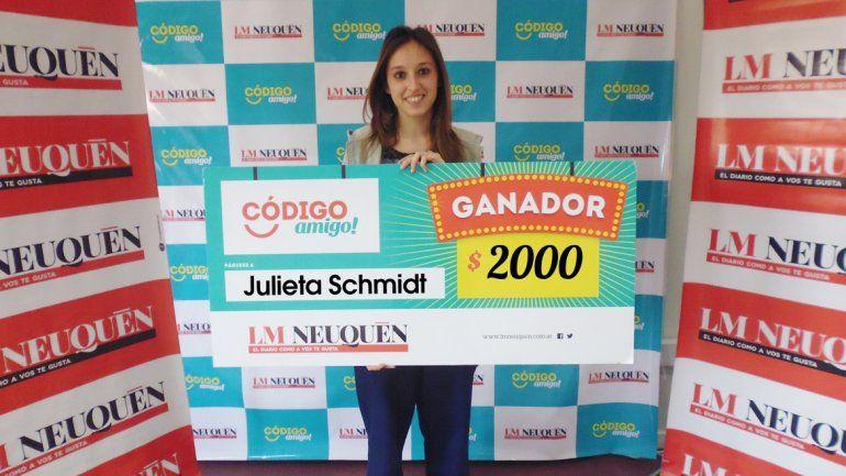 Julieta Schmidt.