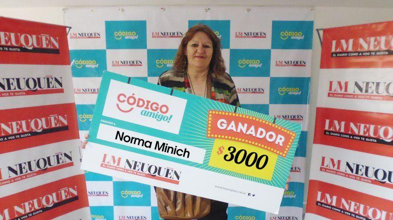 Norma Minich.