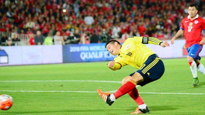 El oportunismo de James Rodríguez salvó a Colombia.