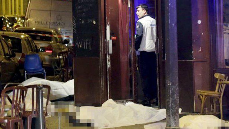 En el restaurant Le Carillon se registraron al menos 7 muertos.