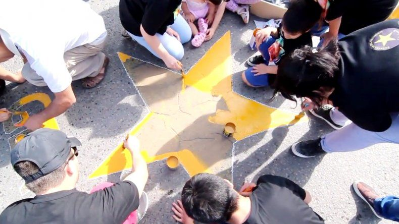 La estrella amarilla de Gervasio Mirallán se encuentra en Drudy y Ruta 22.