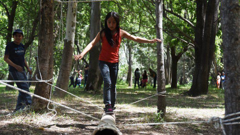 En el Campamento 1