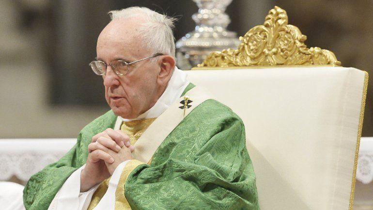 El pontífice ya había condenado el terrorismo y la venta de armas.
