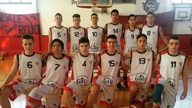 El U15 del Independiente ayer le ganó a Guillermo Brown.