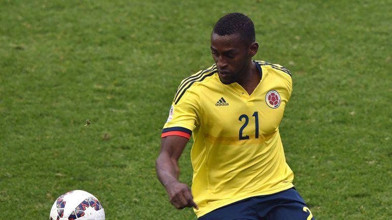 La selección colombiana se queda sin Jackson Martínez