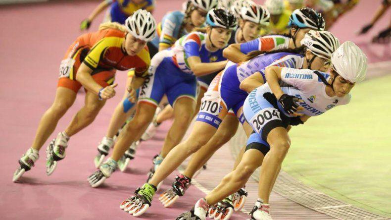 Maira Arias no pudo alcanzar el podio en el Mundial de Patín