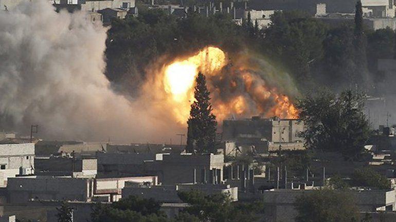Francia lanzó ataques aéreos contra el Estado Islámico