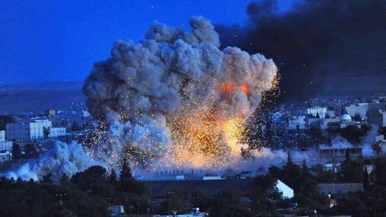 Ataques franceses destruyeron depósitos de armas de Estado Islámico