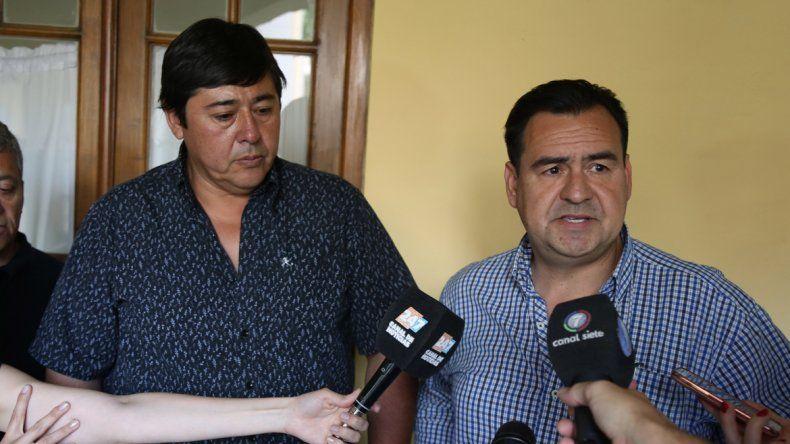 El ministro Gastaminza y el intendente de Rincón