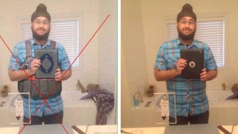 Una imagen retocada convirtió a un canadiense en uno de los terroristas más buscados