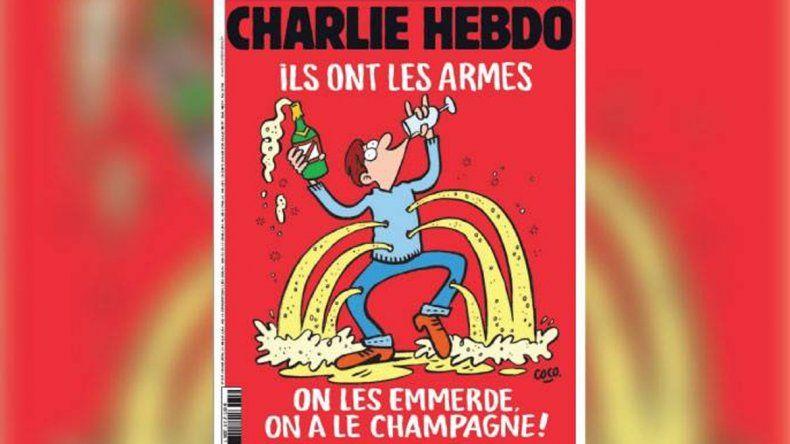 Charlie Hebdo lo hizo de nuevo: así se burló de los atentados en París