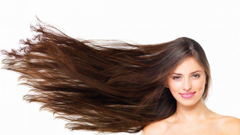 El crecimiento normal de un cabello sano es entre 1