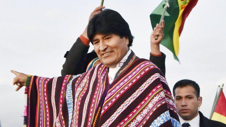 El presidente de Bolivia