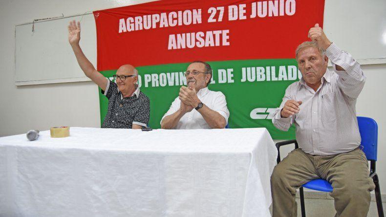 Nuevas autoridades del Centro Provincial de Jubilados de ATE