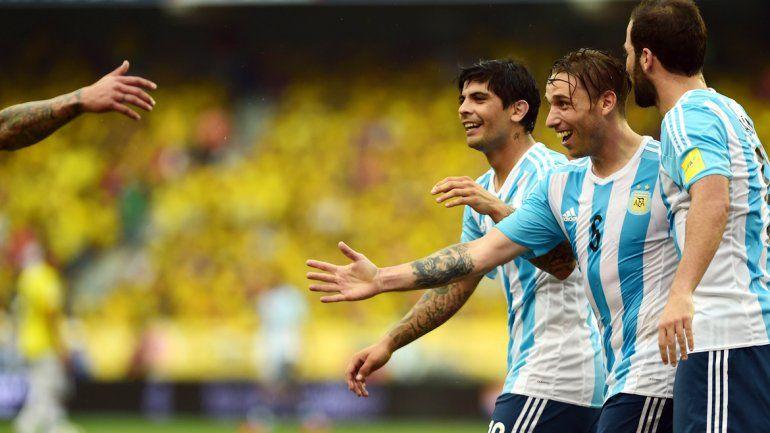 Lucas y Ever fueron las figuras de la selección en Colombia.