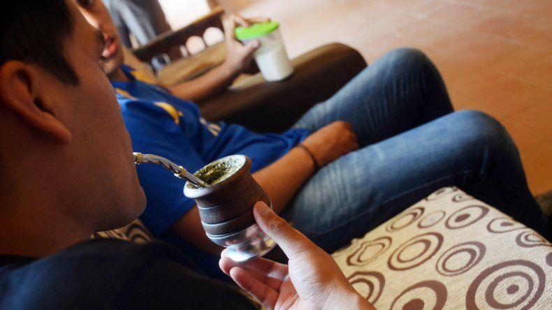 Los jóvenes comparten el tratamiento en la institución de Alta Barda.