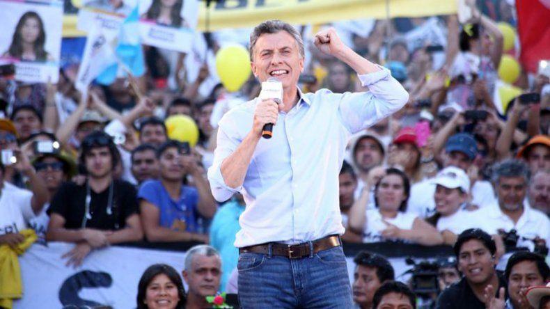 Macri: Todos juntos vamos a construir nuestra Argentina