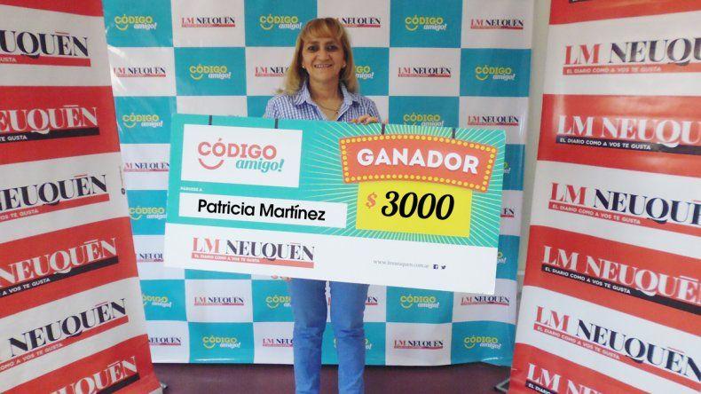 Patricia Martínez.