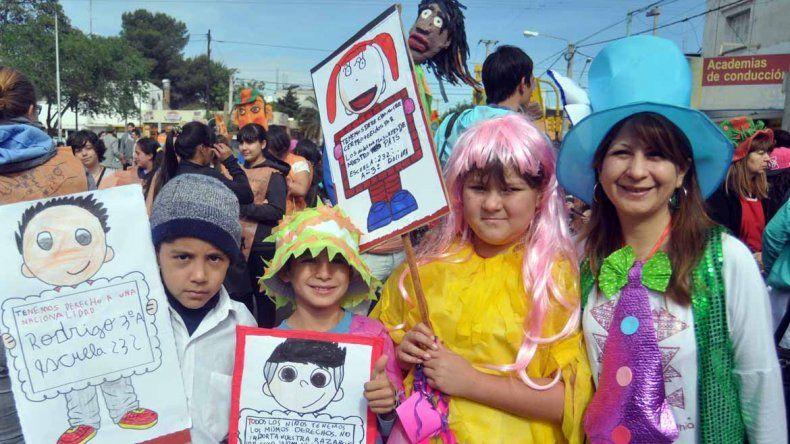 Marcha por el derechos de los niños
