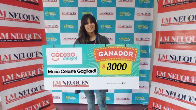 María Celeste Gagliardi.