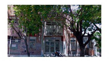 El colegio del escándalo en Burzaco, provincia de Buenos Aires.