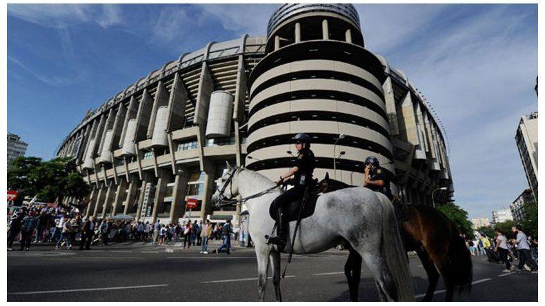 Megaoperativo de seguridad para custodiar Real Madrid-Barcelona