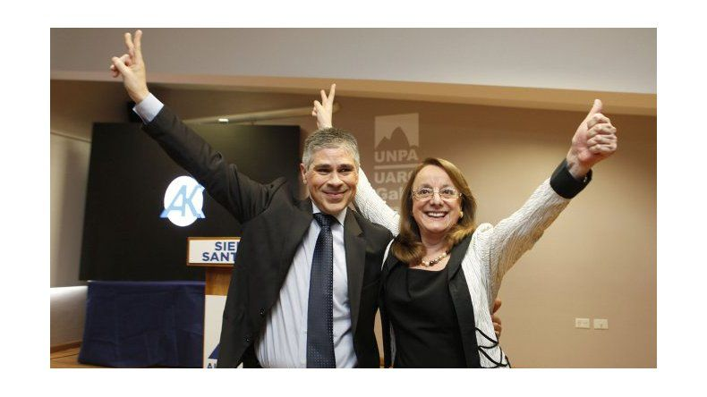 La Junta Electoral proclamó a Alicia Kirchner como gobernadora