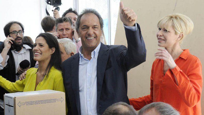 Scioli: Como el Papa, pido que votemos a conciencia
