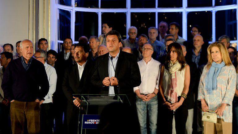 Massa felicitó a Macri por el resultado y dijo que lo acompañará