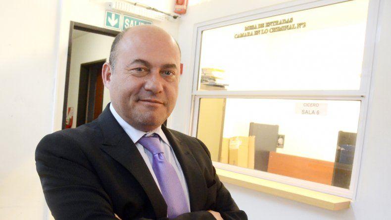 El juez Marcelo Muñoz.