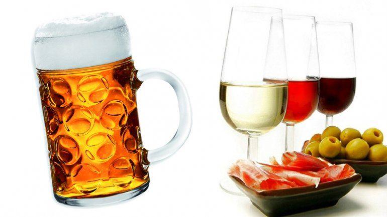 La comparación en estos cuatro rubros arroja una leve diferencia a favor del vino.