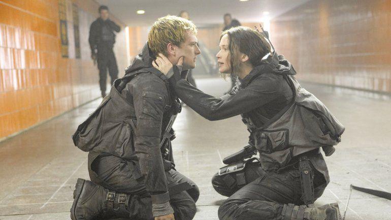 Jennifer Lawrence se convirtió en la heroína de toda una generación de adolescentes fanáticos de la saga.