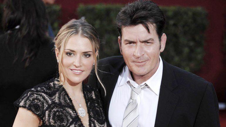 Sheen y Brooke Mueller