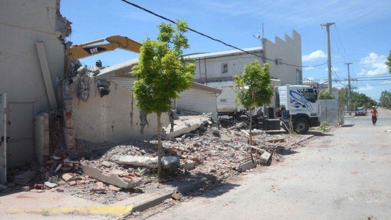 El 25 de octubre de 2012 el derrumbe sobre el techo del supermercado se cobró la vida de siete personas.