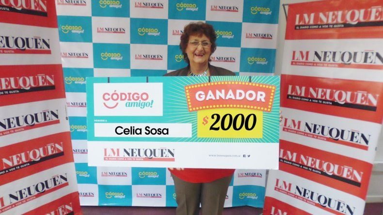 Celia Sosa.