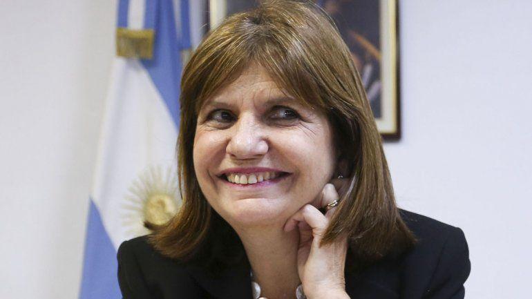 Patricia Bullrich.