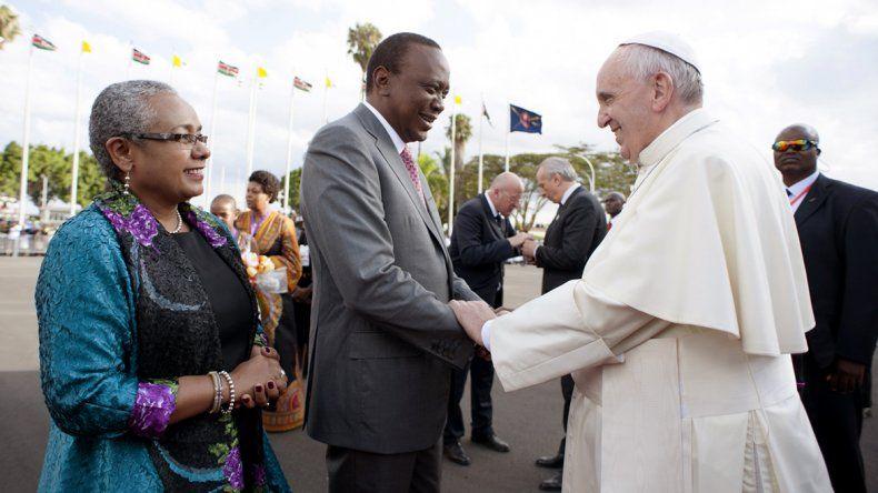 El presidente de Kenia