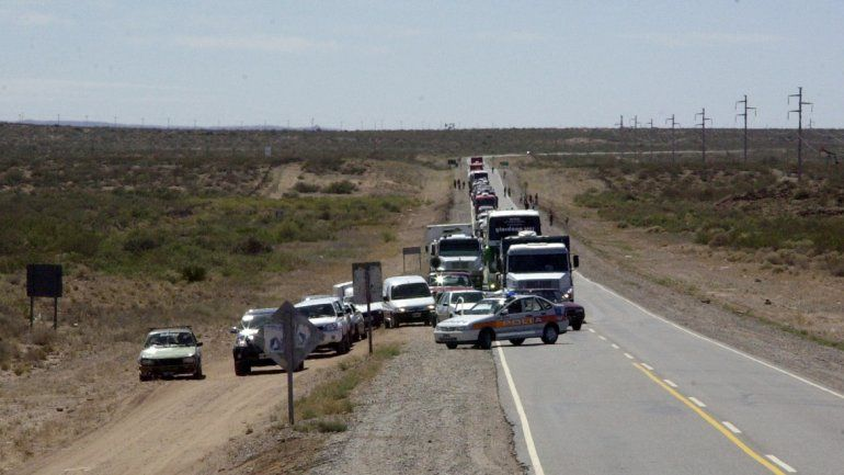 El accidente se registró sobre la Ruta 22