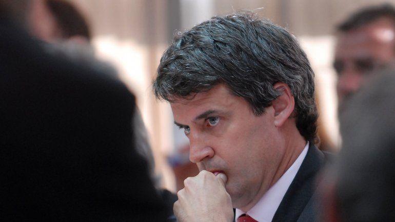 Alfonso Prat Gay encabezó las reuniones del nuevo gabinete.