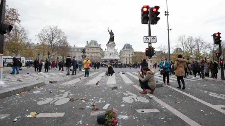 Disturbios en una manifestación por la cumbre del cambio climática