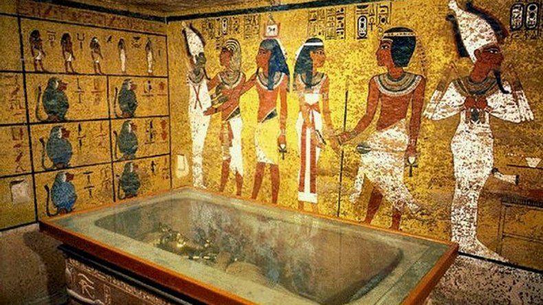 La tumba de Tutankamón
