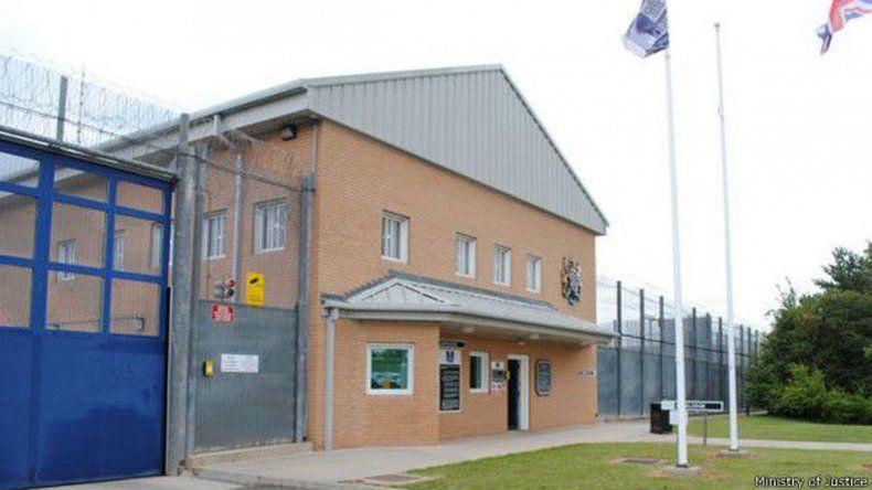 El ingreso a la cárcel de Whatton