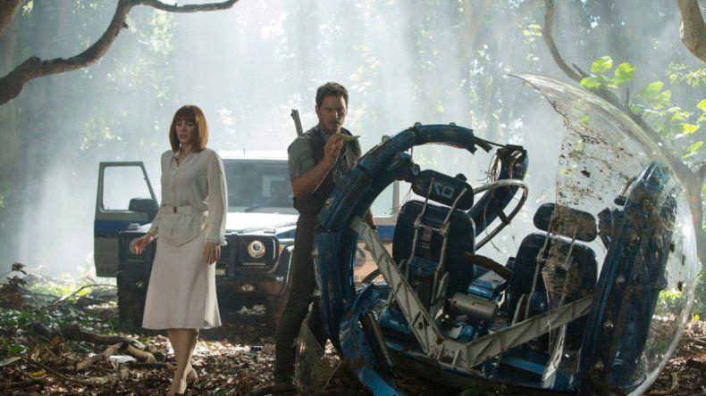 Jurassic World logró 2.022.422 espectadores