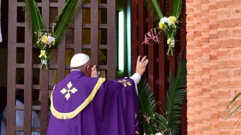 El pontífice argentino anticipó el Año del Jubileo