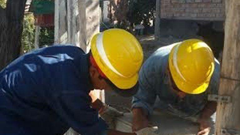 La obra beneficiará a 26 familias del barrio.