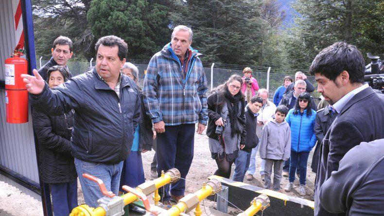 La provisión de gas alcanzó a los centros de salud y escuelas rurales.