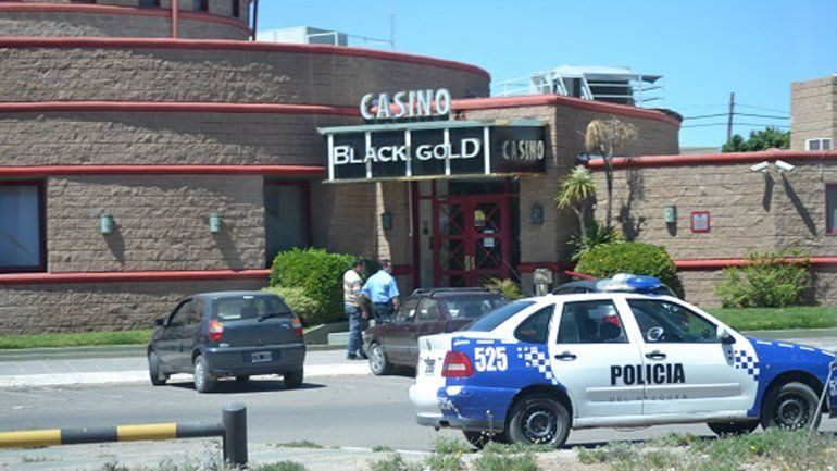 La Policía llegó al casino poco tiempo después del golpe