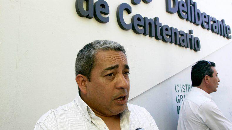 Peralta se desempeñaba en el informativo de la radio municipal.