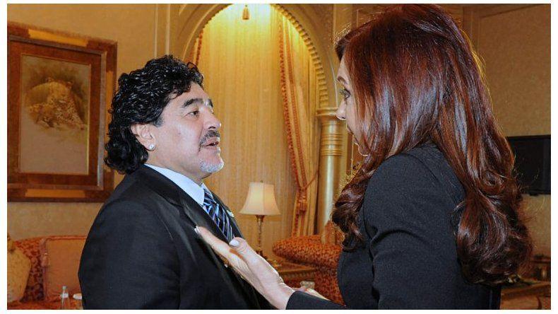 El gesto que Maradona tuvo con Cristina