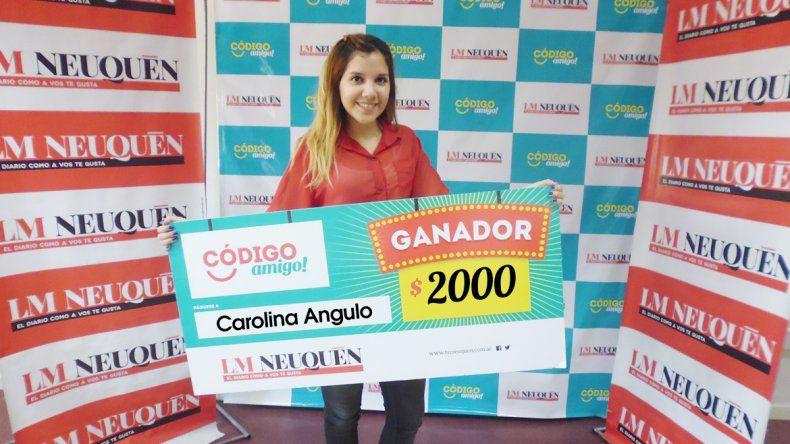 Carolina Angulo.
